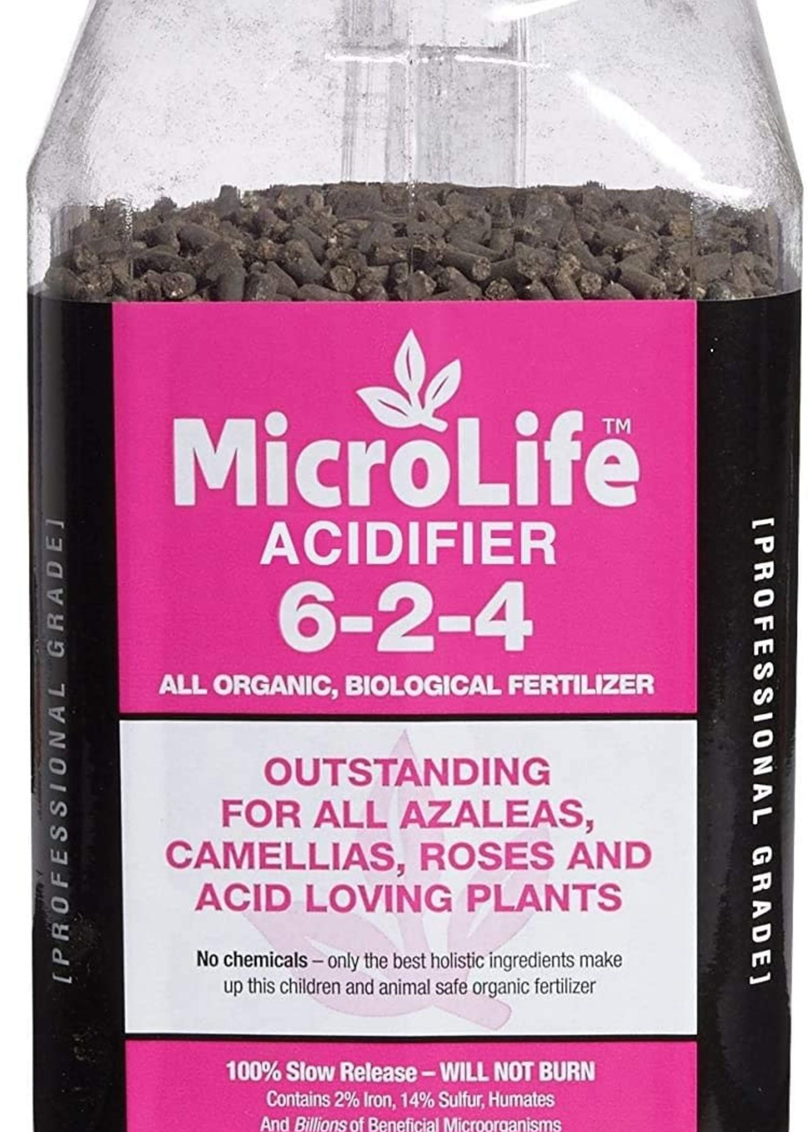 Microlife Azalea Fertilizer 6-2-4 7 lb. jug