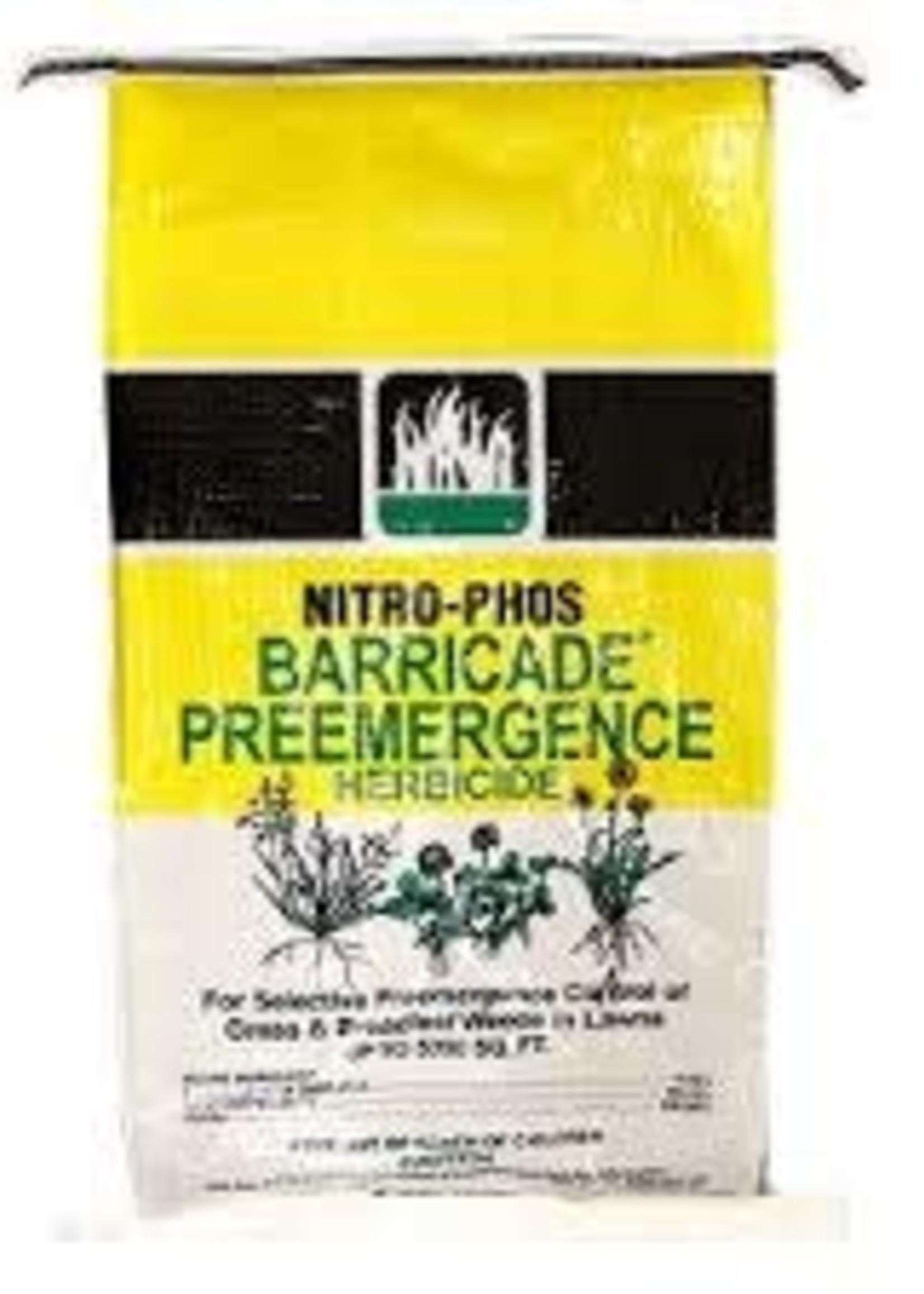 BAG Nitro Phos Barricade Pre-emergent 10 lb. 2500 SF Coverage