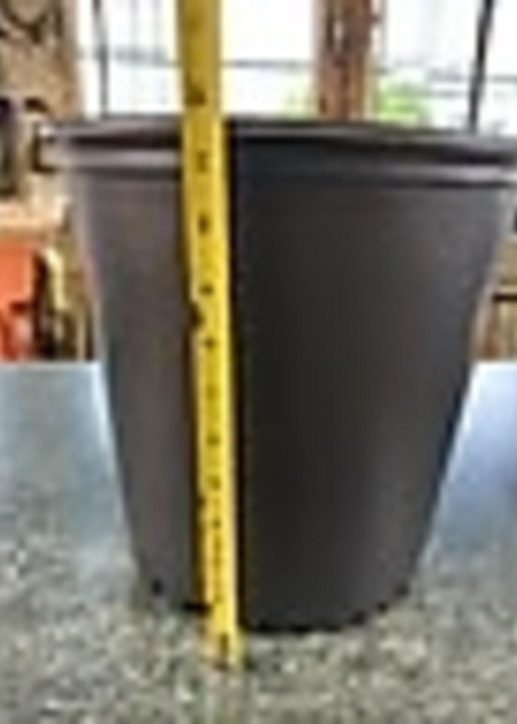 Black Plastic Nursery Growing  Pot, 4 gal.