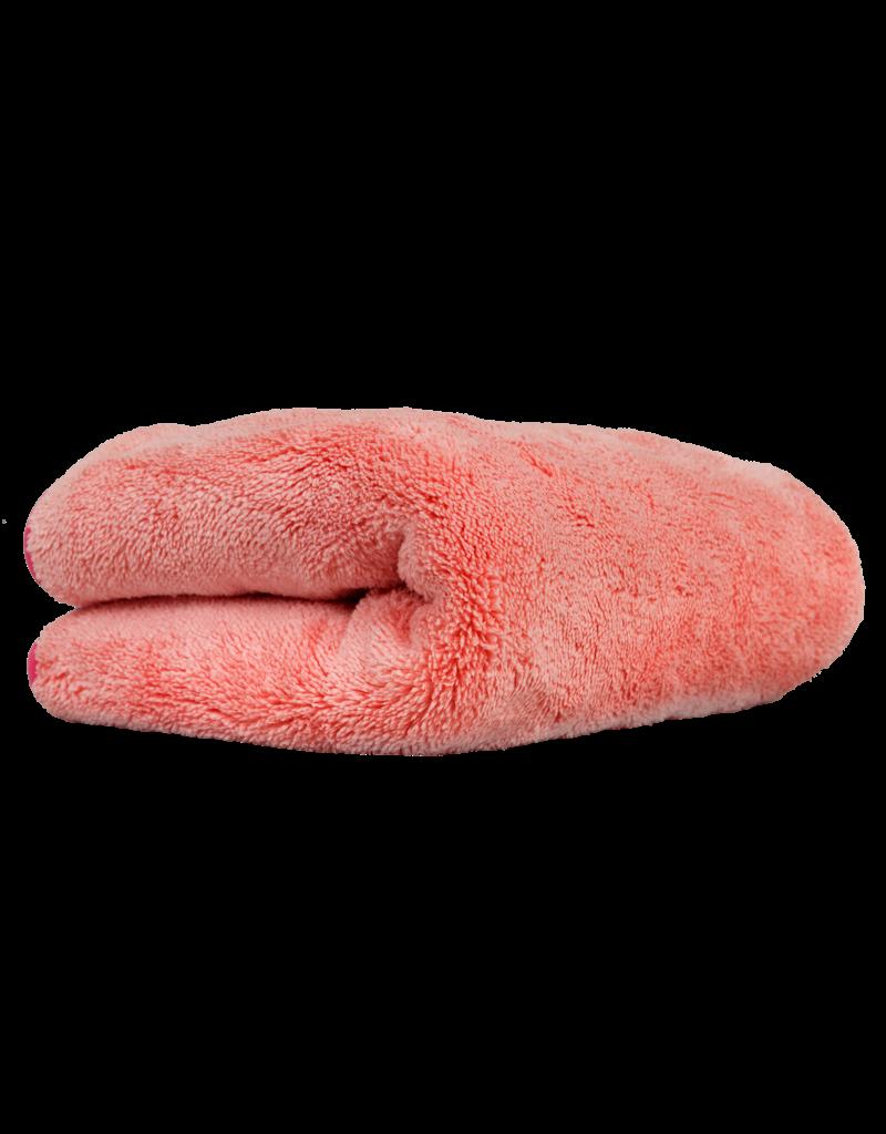 Chemical Guys Mrs. Sasquatch Maximus Microfiber Towel, Pink, 16'' X 16''
