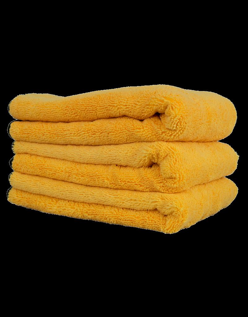 Chemical Guys Professional Grade Premium Silk Banded Microfiber Towels, 16'' X 24'' (3 Pack)
