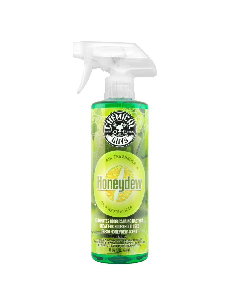 Chemical Guys Honeydew Cantaloupe Premium Air Fragrance & Freshener (16 oz)