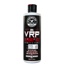 Chemical Guys Extreme V.R.P. Dressing 2 Long Lasting Super Shine 100% Dry To Touch Vinyl, Rubber -Tire & Plastic Restorer+Protectant (16 oz)