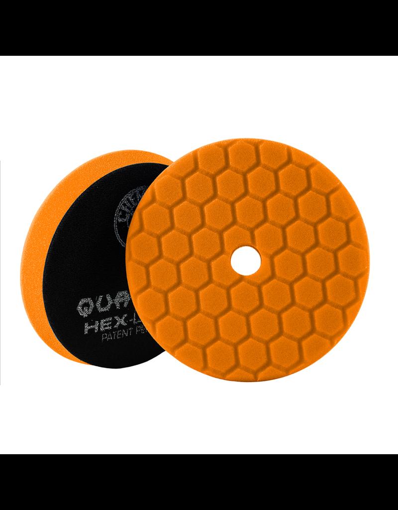 Hex-Logic Hex-Logic Quantum Buffing Pad -Orange -6.5''