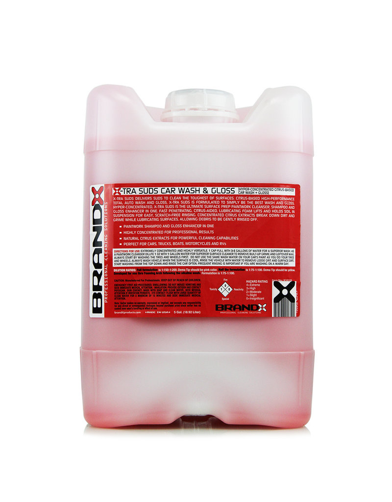 Brand-X Brand X-TRA Suds Car Wash (5 Gal. Cube)