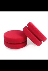 Chemical Guys Dublo-Dual Sized Premium Red Foam Car Wax Sealant And Glaze Applicator (2 Pack)