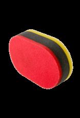Chemical Guys Tri--Color Foam Die Cut Pro Applicator Pad (1 Each)