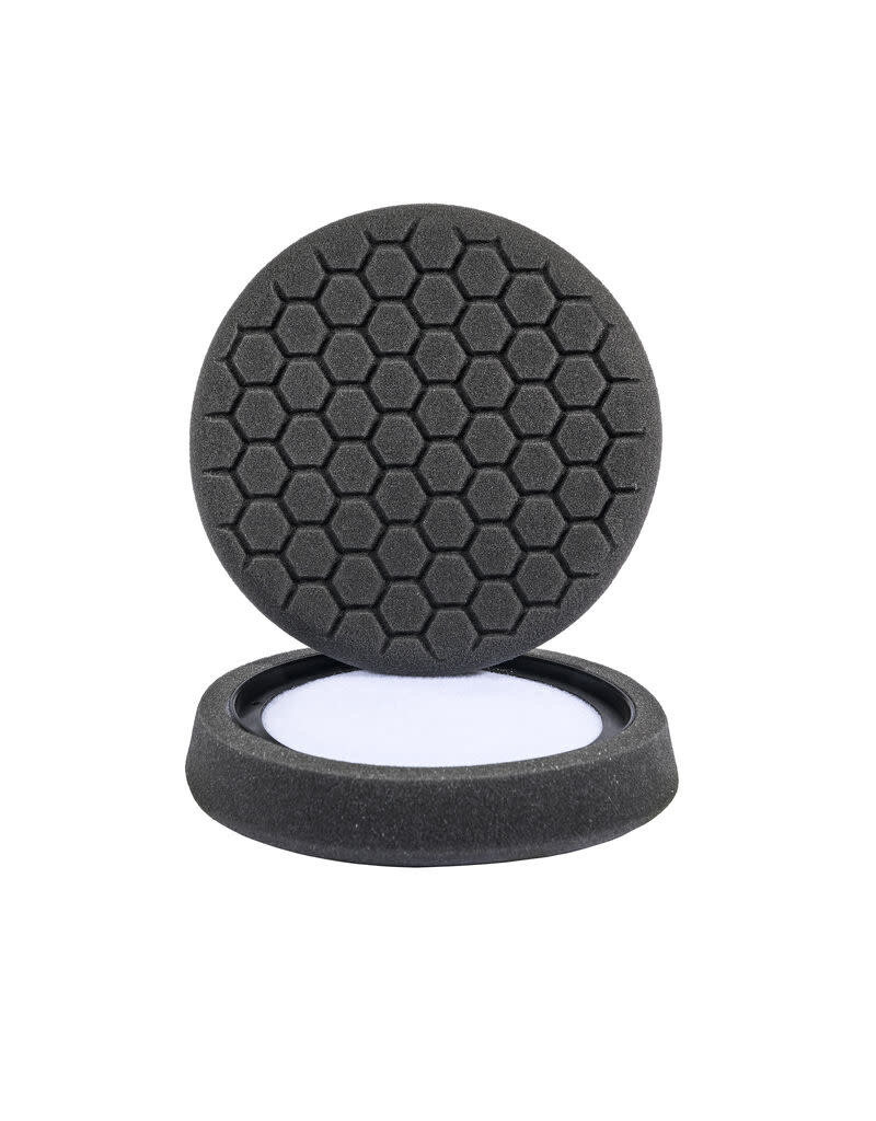 Hex-Logic 7.5'' ''Self Center''  Hex-Logic Pad -Black Finishing Pad (7.5''Inch)
