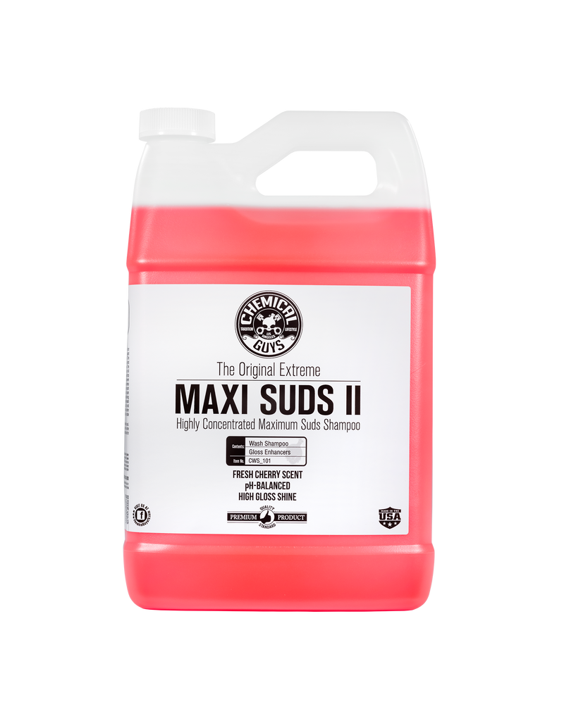 Chemical Guys Maxi-Suds II ~Super Suds Shampoo-Superior Surface Shampoo (1 Gal)