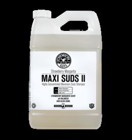 Chemical Guys Maxi-Suds II: Super Suds Shampoo- Strawberry Clear - Superior Surface Shampoo (64oz)