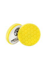Hex-Logic 5.5'' Hex-Logic Pad - Yellow  5.5 ''  Cutting/Compounding Pad- Chemical Guys Premium Pads (5.5''Inch)