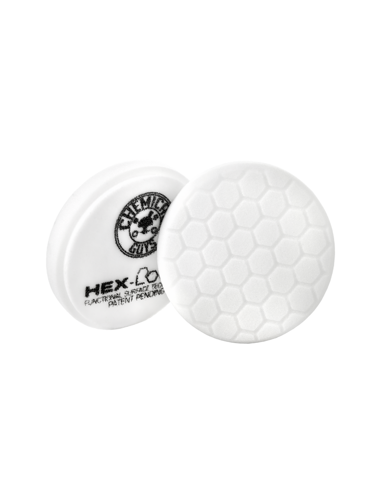 Hex-Logic 6.5'' Hex-Logic Pad - White Medium Light Polishing Pad (6.5''Inch)