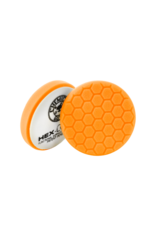 Hex-Logic 6.5'' Hex-Logic Pad Orange Medium-Heavy Cut Scratch & Swirl Remover Pad- (6.5''Inch)