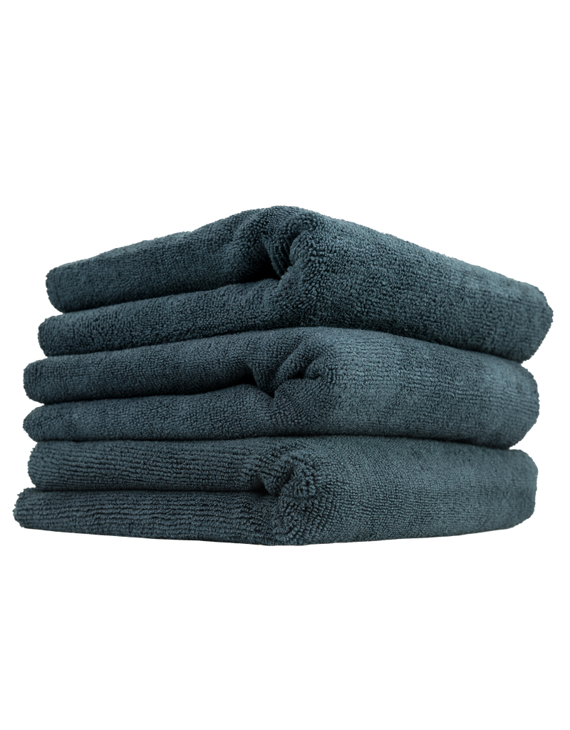 Chemical Guys 704 Black Monster Edgeless Microfiber Towels- (3 Pack)
