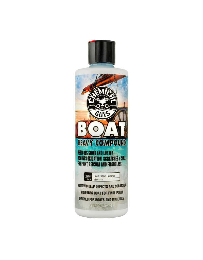 Chemical Guys Boat Heavy Compound (16oz)