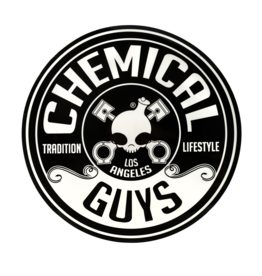 Chemical Guys Chemical Guys Logo Stickers, 5Inch Die Cut Circle