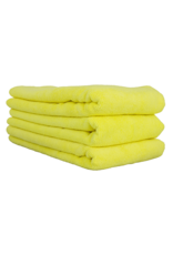 Chemical Guys Workhorse Towel-Yellow For Interiors Professional Grade Microfiber Towels (16'' X 24'') (3-Pack)