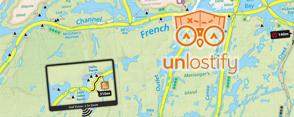 Unlostify Maps