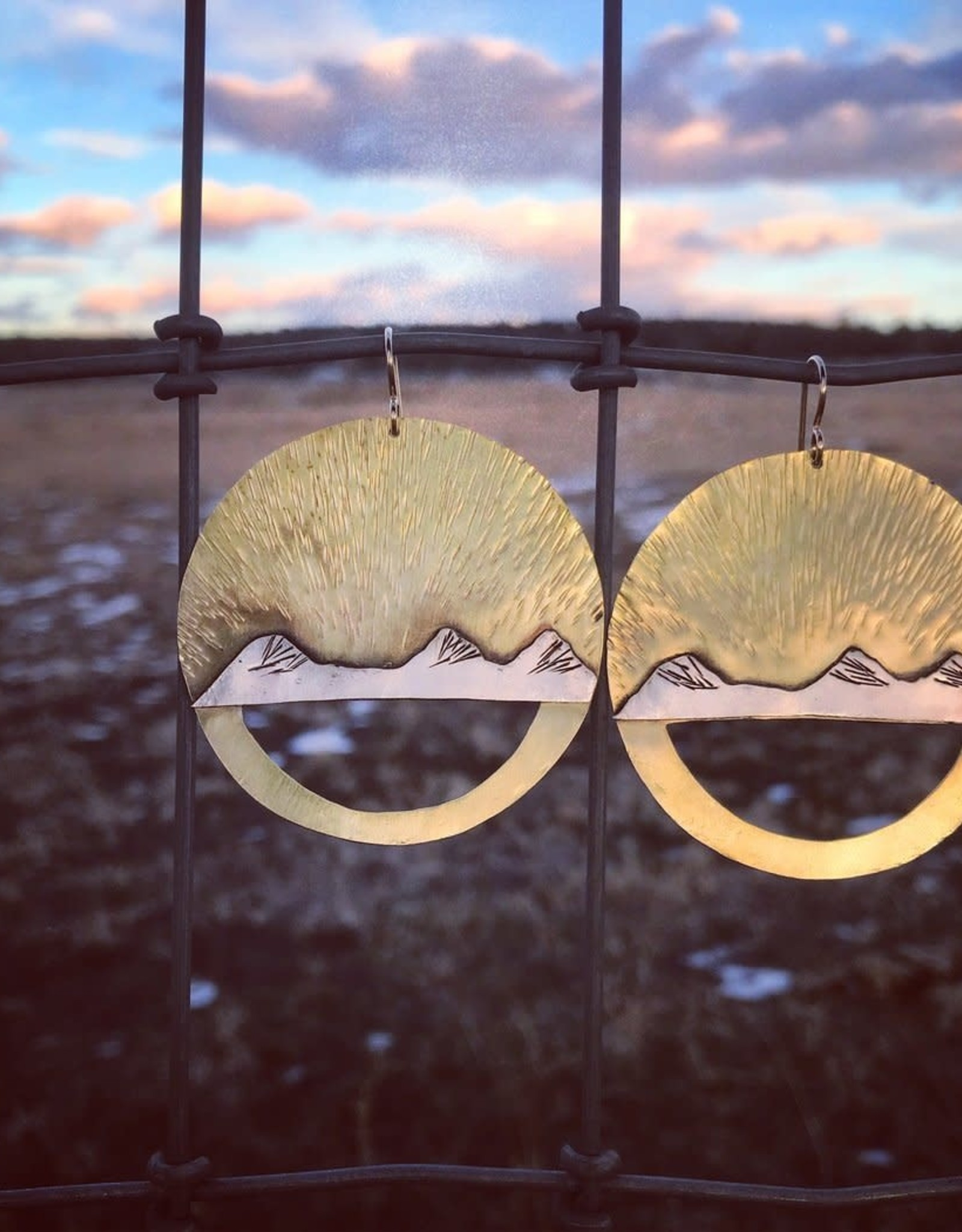 ALPENGLOW JEWELRY ALPENGLOW JEWELRY-THREE SISTER EARRINGS
