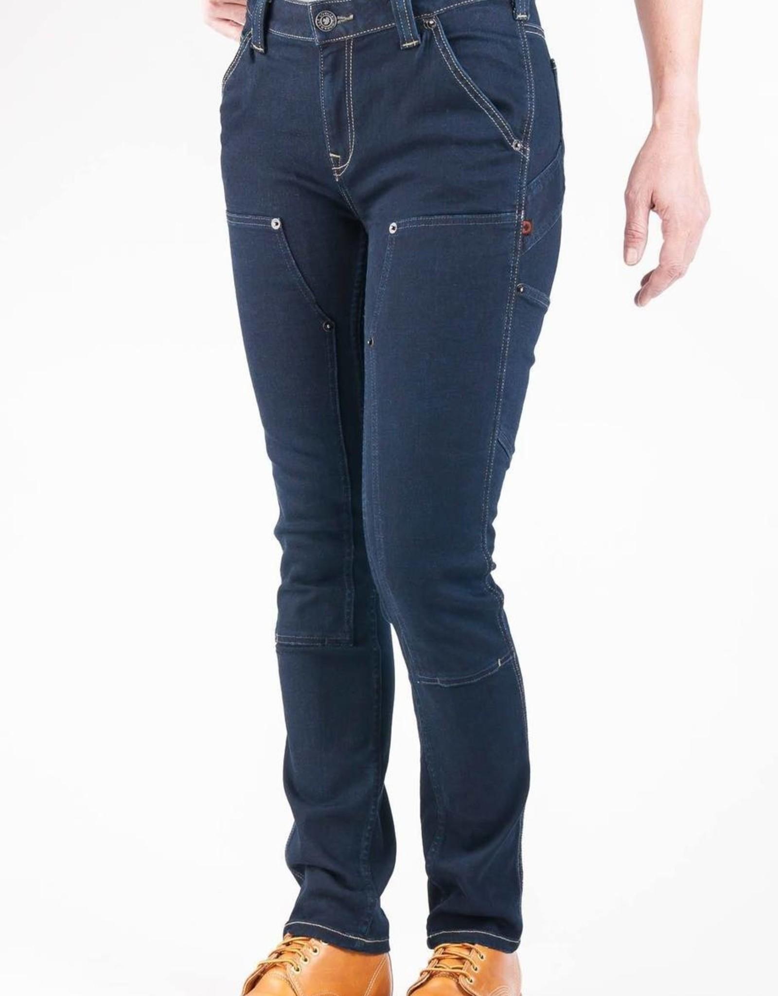 DOVETAIL Dovetail Womens Workwear Maven Pant - Indigo