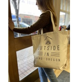 Outside IN OUTSIDE IN LOGO FARM FRESH REUSABLE TOTE