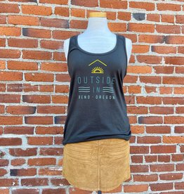 Outside In WOMEN'S OUTSIDE IN FARM FRESH TANK-GUNPOWDER