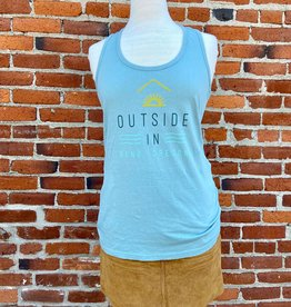 Outside In WOMEN'S OUTSIDE IN FARM FRESH TANK-STORM