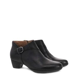 DANSKO DANSKO DARBIE BOOT-BLACK BURNISHED NUBUCK