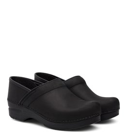 DANSKO WOMEN'S DANSKO PROFESSIONAL CLOG-BLACK OILED