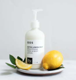 AOS AOS 8OZ LOTION-DETOX LEMON DROP