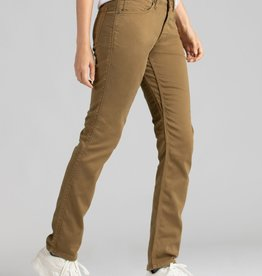 DU/ER WOMEN'S DU/ER NO SWEAT SLIM STRAIGHT PANT-TOBACCO