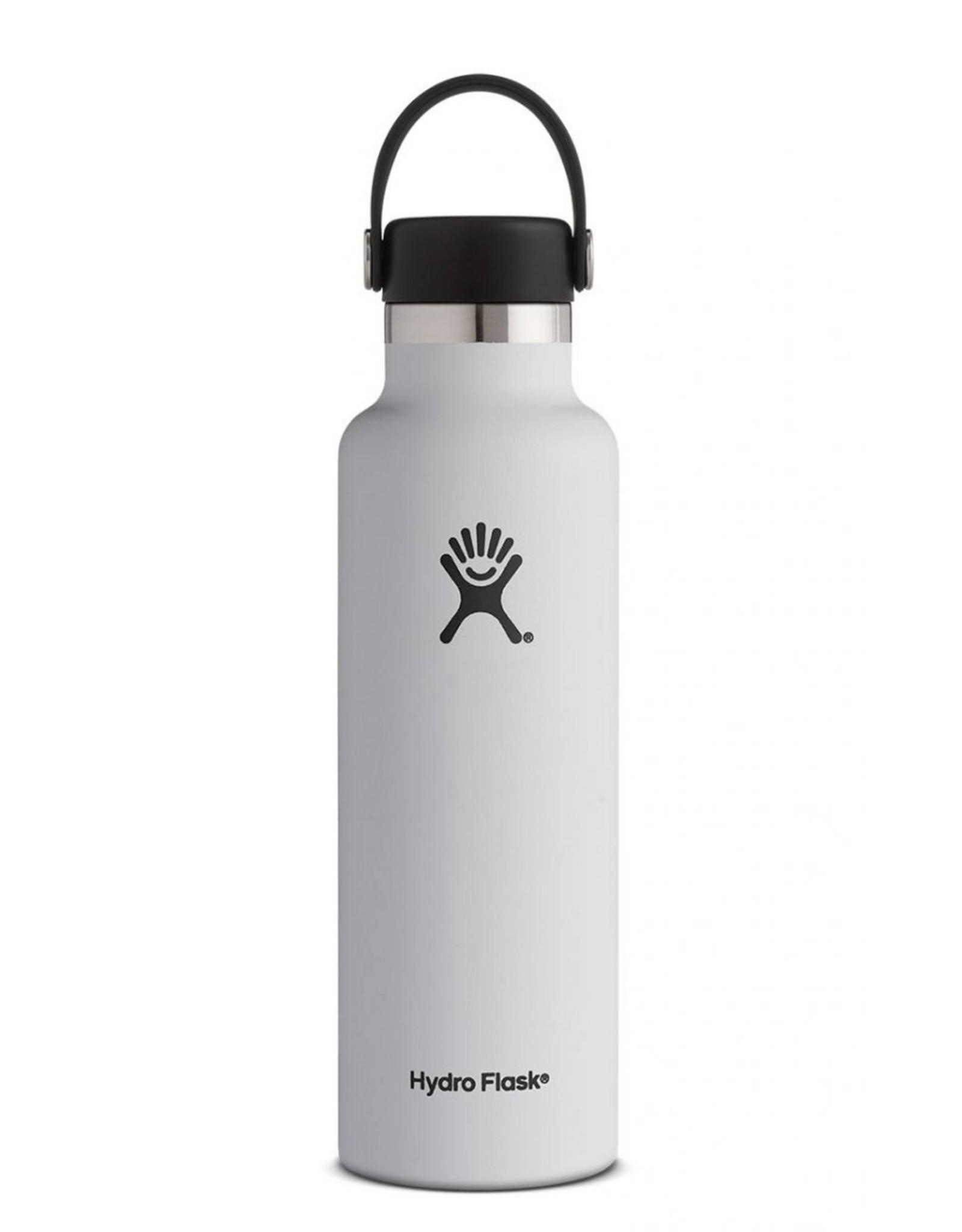 HYDRO FLASK HYDRO FLASK 21OZ STANDARD MOUTH BOTTLE-WHITE