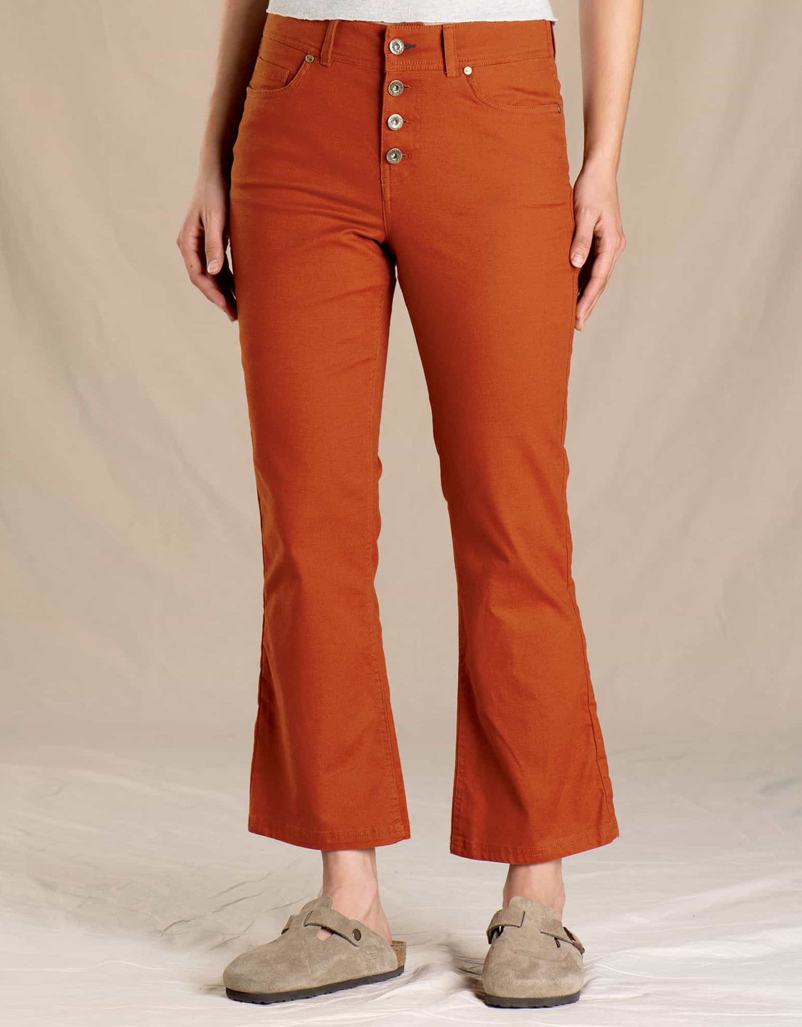 Toad&Co WOMEN'S TOAD & CO. EARTHWORKS KICK FLARE PANT-PICANTE