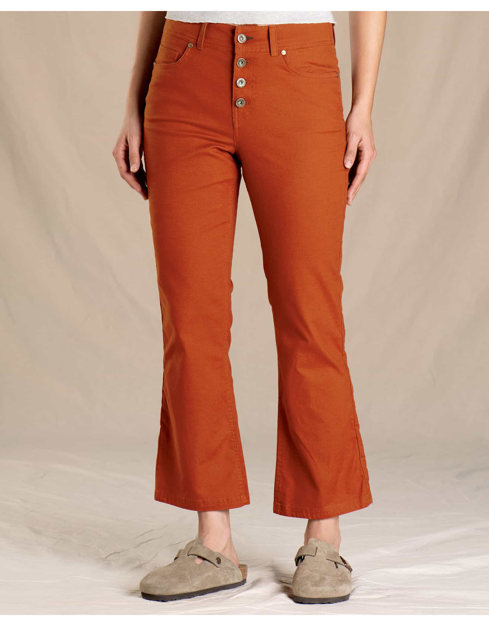 toad & co WOMEN'S TOAD & CO. EARTHWORKS KICK FLARE PANT-PICANTE