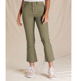 toad & co WOMEN'S TOAD & CO. EARTHWORKS KICK FLARE PANT-BEETLE