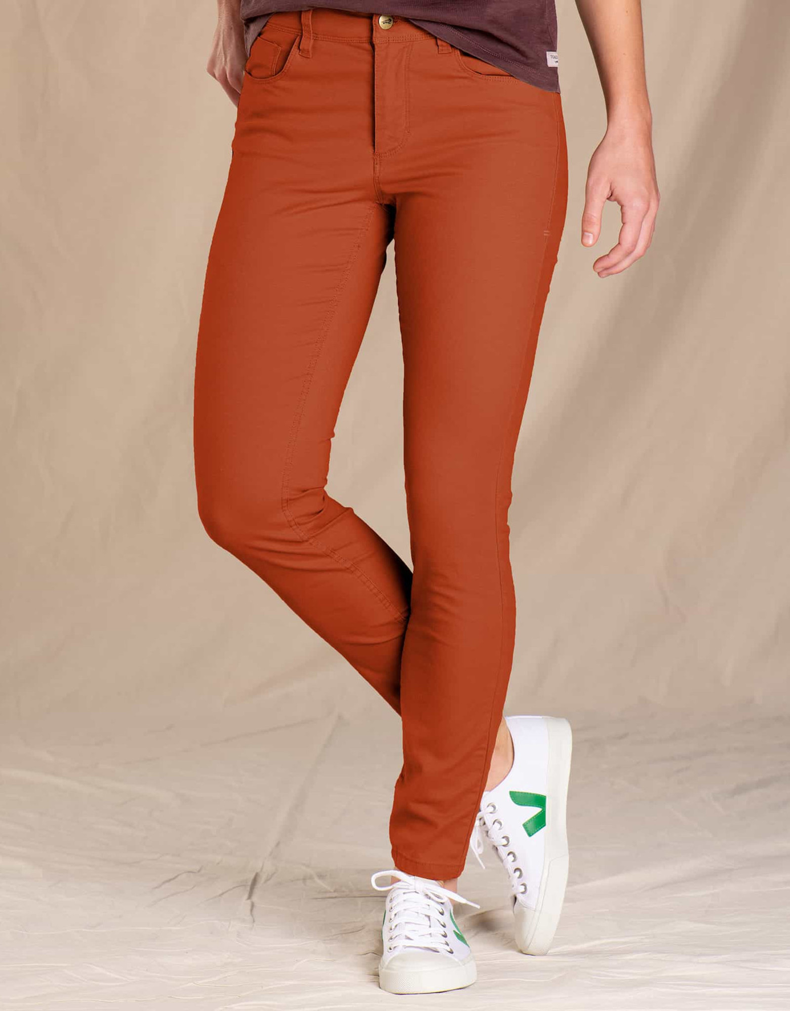 Toad&Co WOMEN'S TOAD & CO. EARTHWORKS 5 POCKET SKINNY-PICANTE