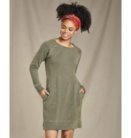 toad & co WOMEN'S TOAD & CO. EPIQ LONG SLEEVE DRESS-BEETLE VINTAGE WASH
