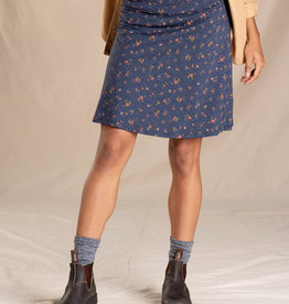 Toad&Co WOMEN'S TOAD & CO. CHAKA SKIRT-TRUE NAVY PAINTERS FLORAL