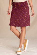Toad&Co WOMEN'S TOAD & CO. CHAKA SKIRT-PORT PAINTERS FLORAL