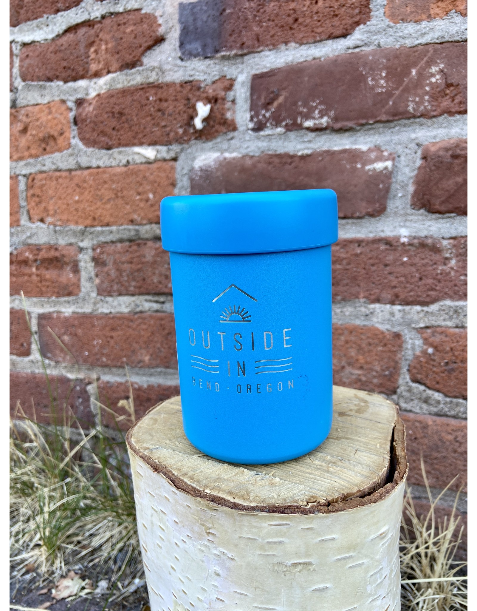 Outside IN OUTSIDE IN LOGO HYDRO FLASK COOLER CUP-PACIFIC