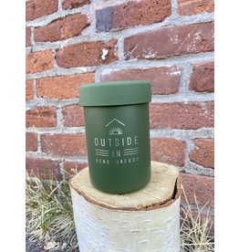 Outside IN OUTSIDE IN LOGO HYDRO FLASK COOLER CUP-OLIVE