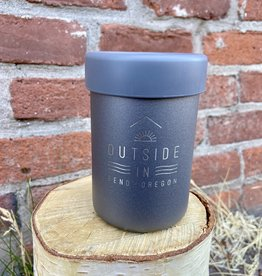 Outside In OUTSIDE IN LOGO HYDRO FLASK COOLER CUP-GRAPHITE