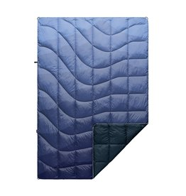RUMPL RUMPL DOWN PUFFY BLANKET-1 PERSON- CASCADE FADE/BLUE