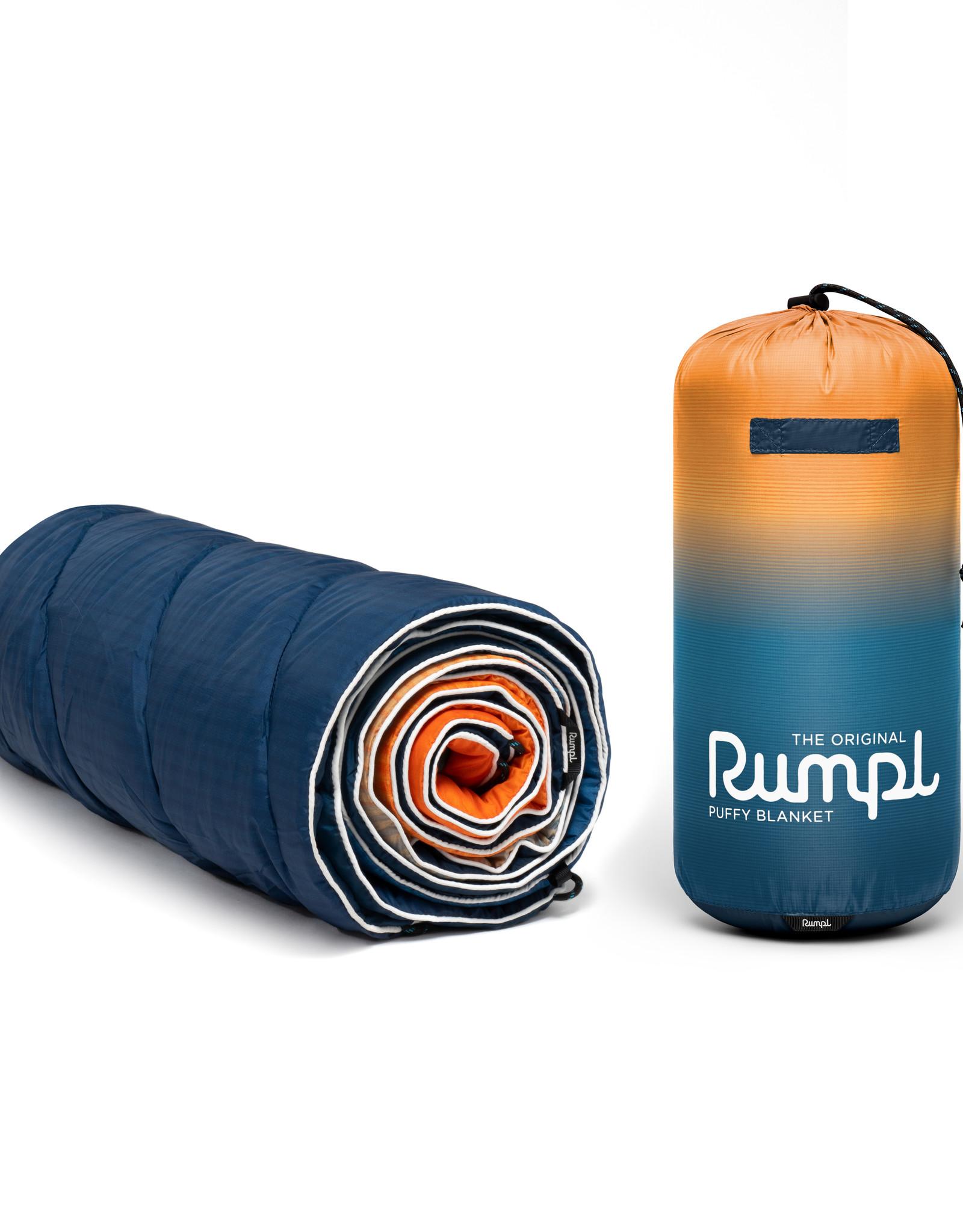 RUMPL RUMPL ORIGINAL PRINTED PUFFY BLANKET-SUNSET FADE