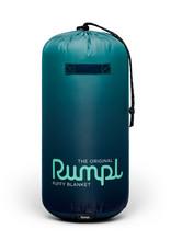 RUMPL RUMPL ORIGINAL PRINTED PUFFY BLANKET-OCEAN FADE