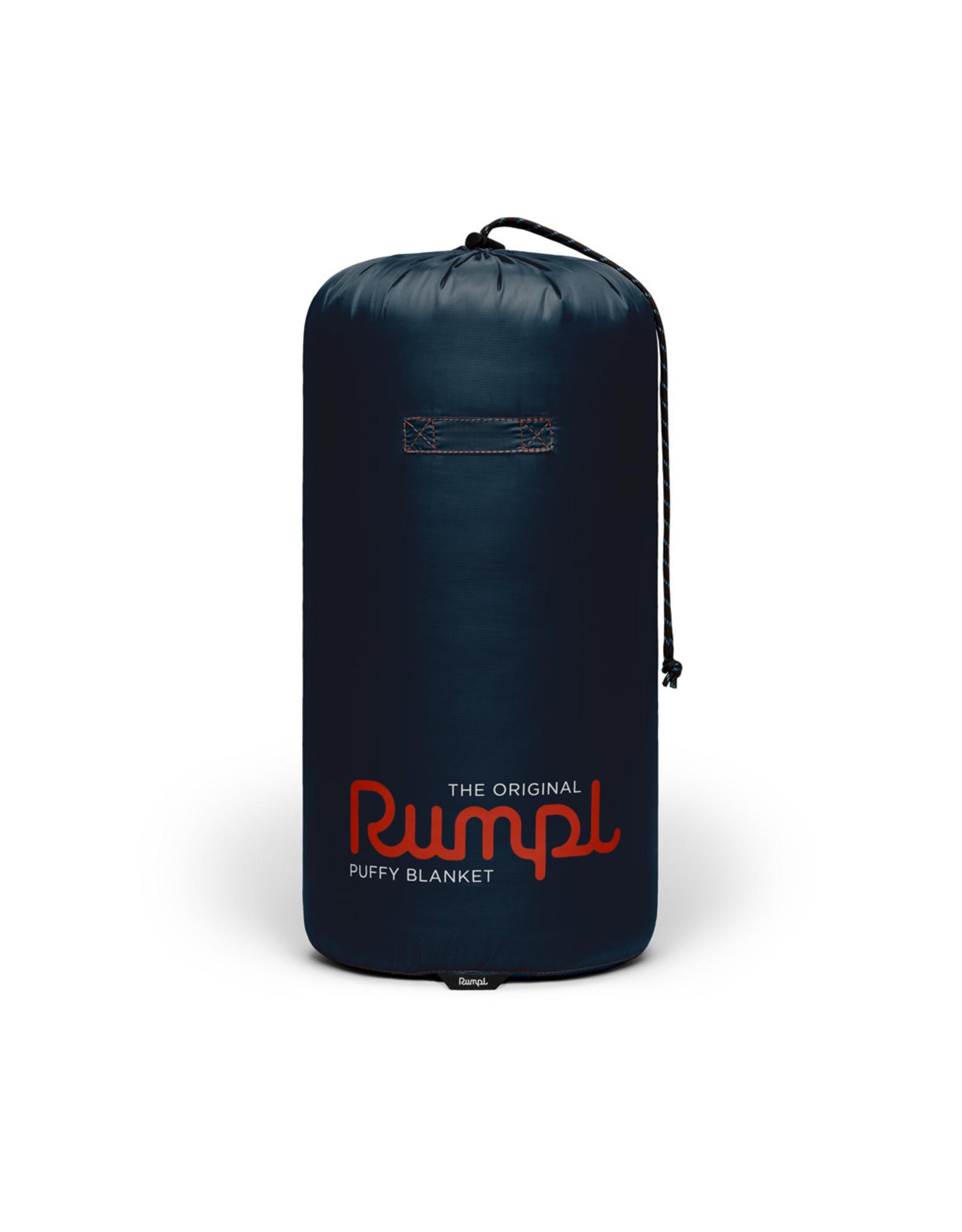 RUMPL RUMPL ORIGINAL SOLID PUFFY BLANKET- 2 PERSON-DEEPWATER