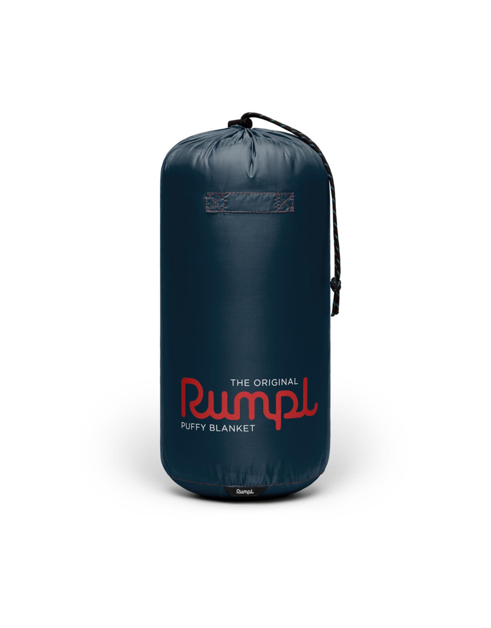 RUMPL RUMPL ORIGINAL SOLID PUFFY BLANKET-1P-DEEPWATER