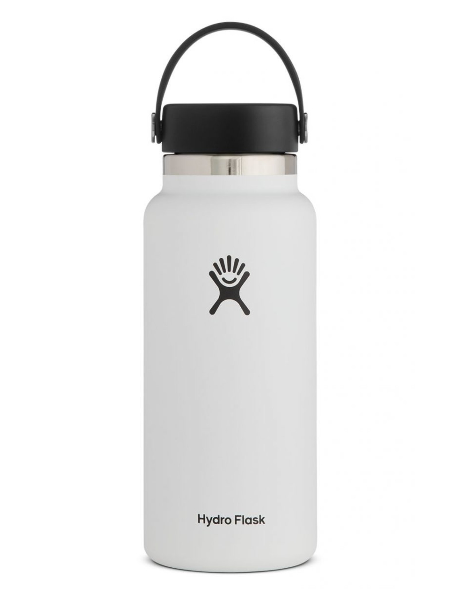 HYDRO FLASK HYDRO FLASK 32OZ WIDE MOUTH BOTTLE-WHITE