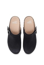 DANSKO DANSKO BERRY MULE-BLACK BURNISHED NUBUCK