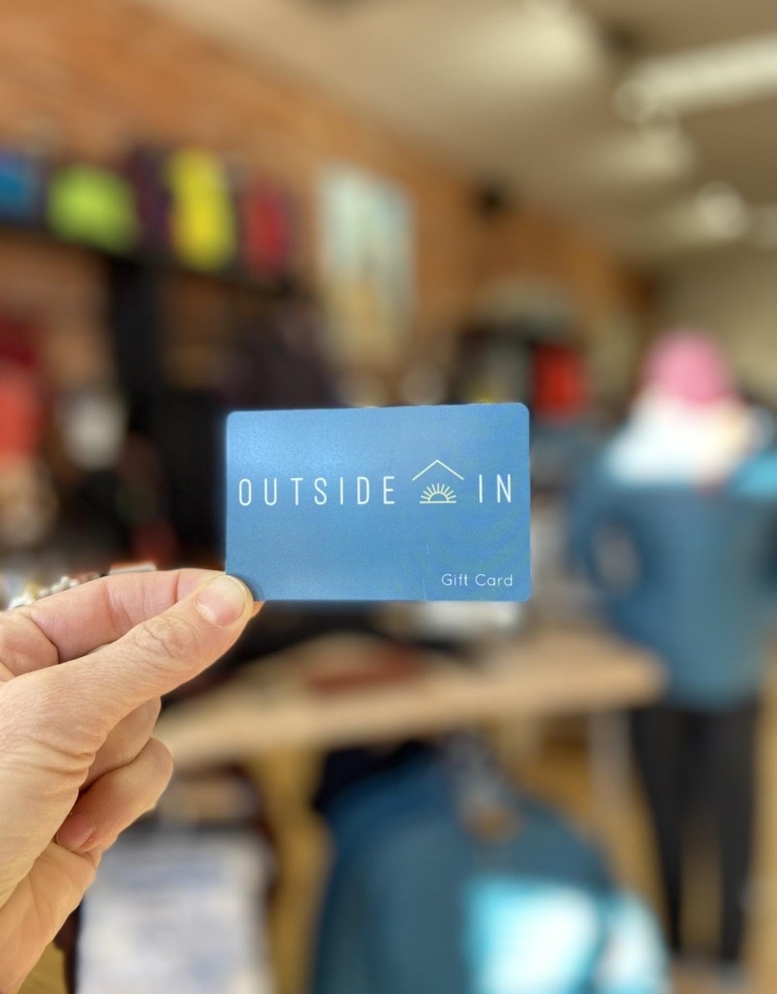 Outside In $25 Outside In Gift Card